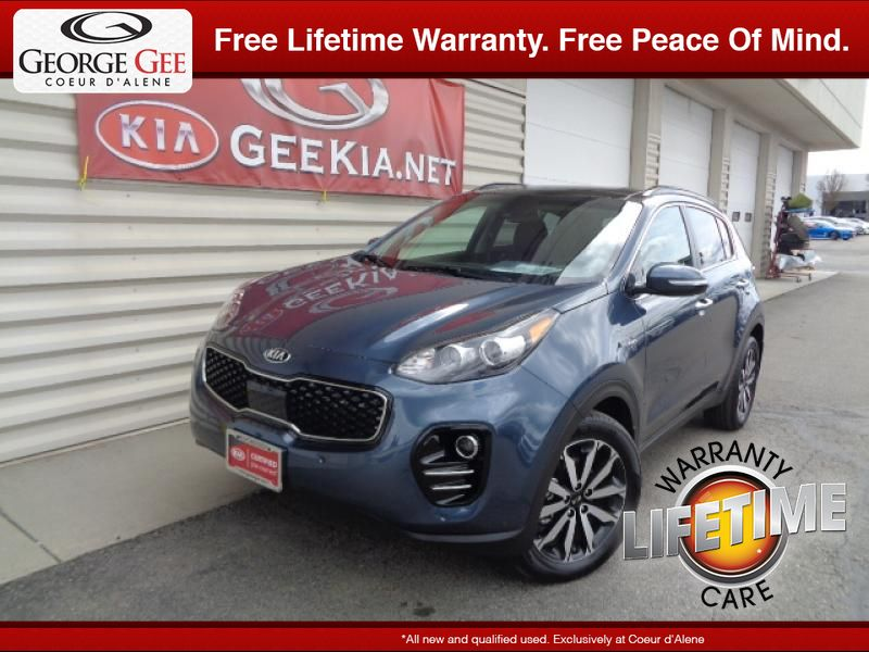 Certified Pre-Owned 2018 Kia Sportage EX